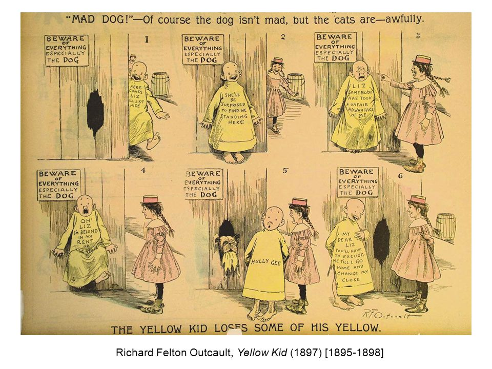 Richard Felton Outcault, Yellow Kid (1897) [1895-1898]